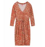 Kyra & Ko Juno jurk oranje