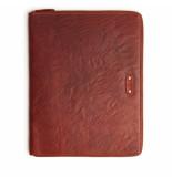 dR Amsterdam Schrijfmap a4 big folder Bruin One size