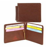dR Amsterdam Moneyclip Bruin One size