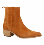Shoecolate 8.10.08.010.02 dames laars cognac