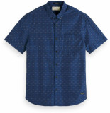 Scotch & Soda Shortsleeve fil-coupe shirt