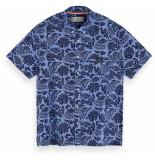 Scotch & Soda All-over printed linen shirt