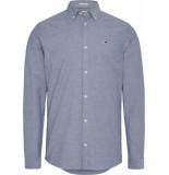 Tommy Hilfiger Overhemd dm0dm06562 c4e perfume blue - blauw