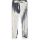 Scotch & Soda Warren- chic beach pant blauw