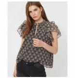 Sofie Schnoor S202263 blouse seraphina zwart