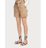 Maison Scotch 156421 longer length mercerized chino shorts