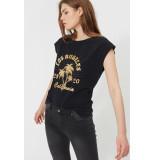 Sofie Schnoor S202304 t-shirt nikoline zwart