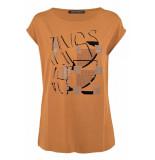 FABER T-shirts en tops bruin