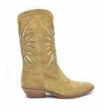 Julie Dee Lange laarzen beige