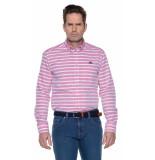 State of Art Casual overhemd met lange mouwen roze