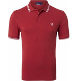 Fred Perry Twin tipped polo pomegranate