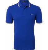 Fred Perry Twin tipped polo cobalt/cst/cst blauw