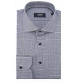 Olymp Signature tailored fit overhemd met lange mouwen blauw