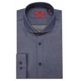 Hugo Extra slim fit overhemd met lange mouwen blauw