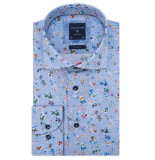 Profuomo Originale slim fit overhemd met lange mouwen