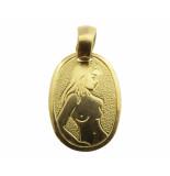 Christian Gouden maagd sterrenbeeld hanger
