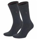Tommy Hilfiger Sokken 2-pack grijs