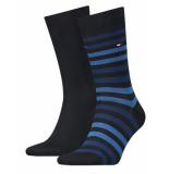 Tommy Hilfiger Sokken 2-pack blauw