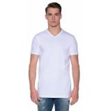 Slater Basic extra long fit t-shirt met korte mouwen