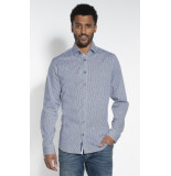 Blue Industry Casual overhemd met lange mouwen wit