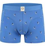 A-dam Octaaf boxershort blauw