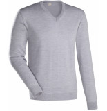 Jacques Britt Heren trui licht v-hals slim fit
