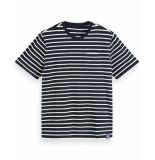 Scotch & Soda T-shirt 155388 wit