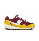 Saucony Shadow 5000 vintage yellow/maroon/white rood