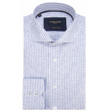 Cavallaro Slim fit overhemd met lange mouwen wit
