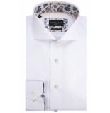 Cavallaro Overhemd met lange mouwen wit