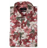Cavallaro Overhemd met lange mouwen rood