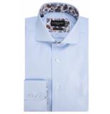Cavallaro Overhemd met lange mouwen licht blauw