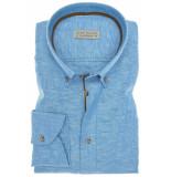 John Miller Heren overhemd chambray button-down tailored fit