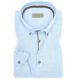 John Miller Heren overhemd licht chambray button-down tailored fit