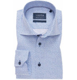 Ledûb Ledûb heren overhemd ankers poplin widespread tailored fit
