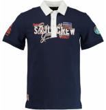 Gaastra Polo shirt kento 1357105181/b009 blauw