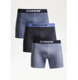 Chasin' 9u00400031 thrice melange boxershorts e81 - grijs
