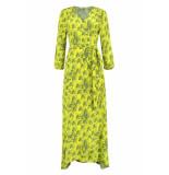 POM Amsterdam Dragon love jurk geel