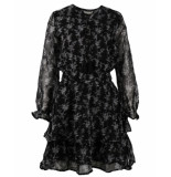 Circle of Trust Jurk gaby dress longsleeve zwart