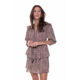 Colourful Rebel Saar Leopard Mini Belt Dress Women