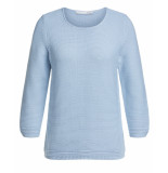 Oui Pullover 0068937 blauw