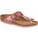 Birkenstock Gizeh kids cosmic sparkle old rose roze