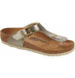 Birkenstock Gizeh kids bs electric metallic gold goud