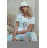 Colourful Rebel 8393 oui classic tee women white colourful rbel