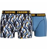Zaccini 2-pack boxershorts pinguïns -