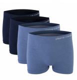 Pierre Cardin 4-pack boxershorts - blauw