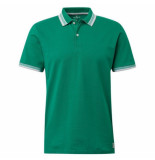 Tom Tailor heren polo plain green