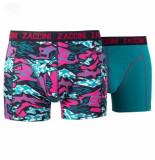 Zaccini 2-pack boxershorts trendy design -