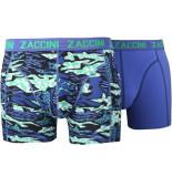Zaccini 2-pack boxershorts trendy design uni -