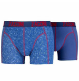 Zaccini 2-pack boxershorts uni trendy design -